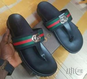Quality Italian Gucci Palm Slippers For Man | Shoes for sale in Lagos State, Lekki