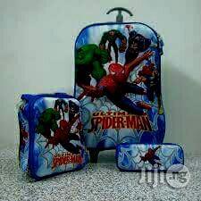 Kids 3 In 2 Trolley School Bags   Babies & Kids Accessories for sale in Lagos State, Ikeja
