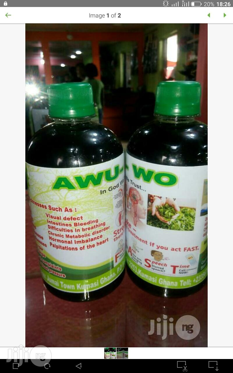 Awu-Wo Herbal Drink for Diabetes