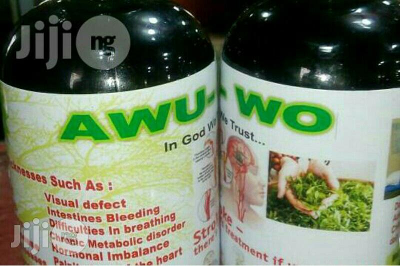 Awu-Wo Herbal Drink for Diabetes | Vitamins & Supplements for sale in Ojodu, Lagos State, Nigeria