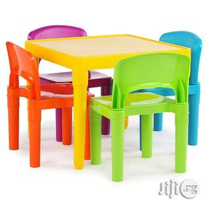 Quality Plastic Chair & Table For Kids   Children's Furniture for sale in Lagos State, Ikeja