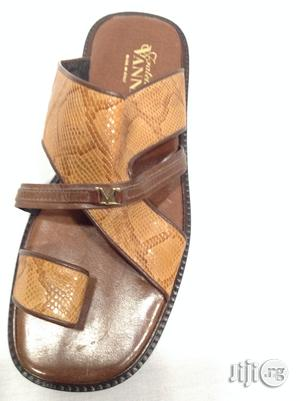 Quality Vanni Leather Slippers Sandals   Shoes for sale in Lagos State, Surulere