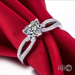 Splendid Diamond Sterling Silver Ladies Engagement Ring | Wedding Wear & Accessories for sale in Lagos State