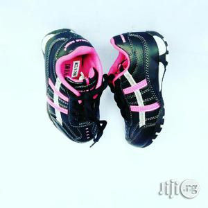 Black and Pink Canvas   Children's Shoes for sale in Lagos State, Lagos Island (Eko)