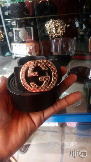 Quality Leather Gucci Belt For Men | Clothing Accessories for sale in Lagos State, Surulere