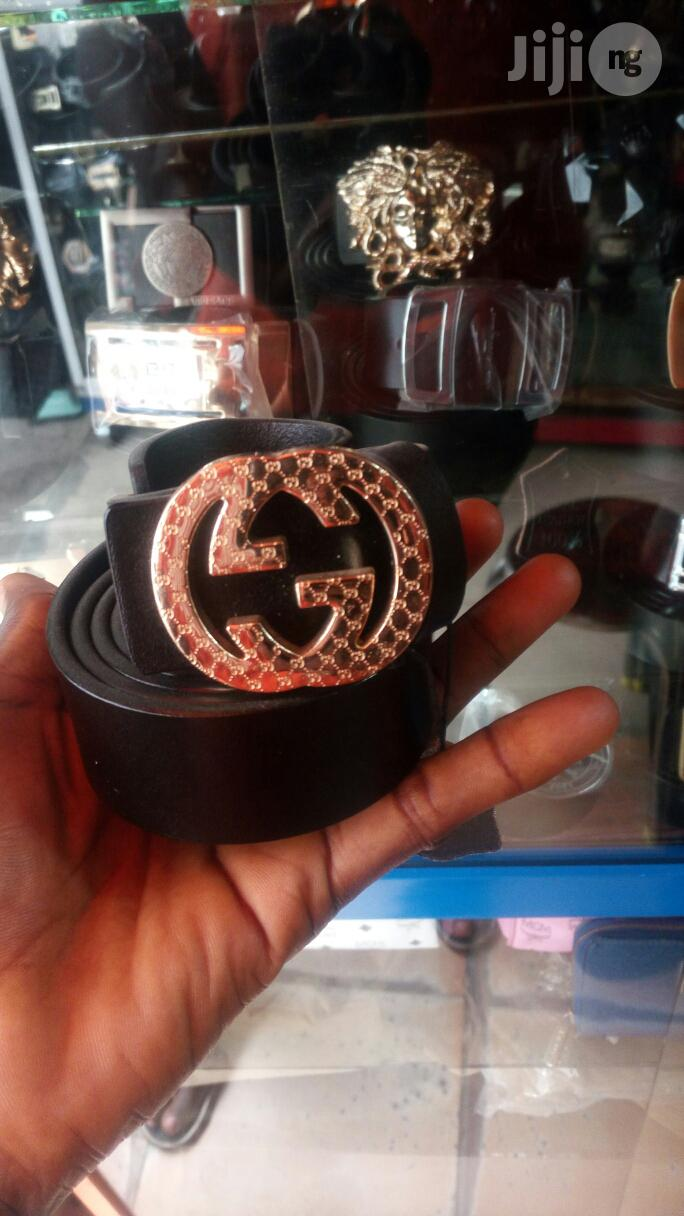 Quality Leather Gucci Belt For Men