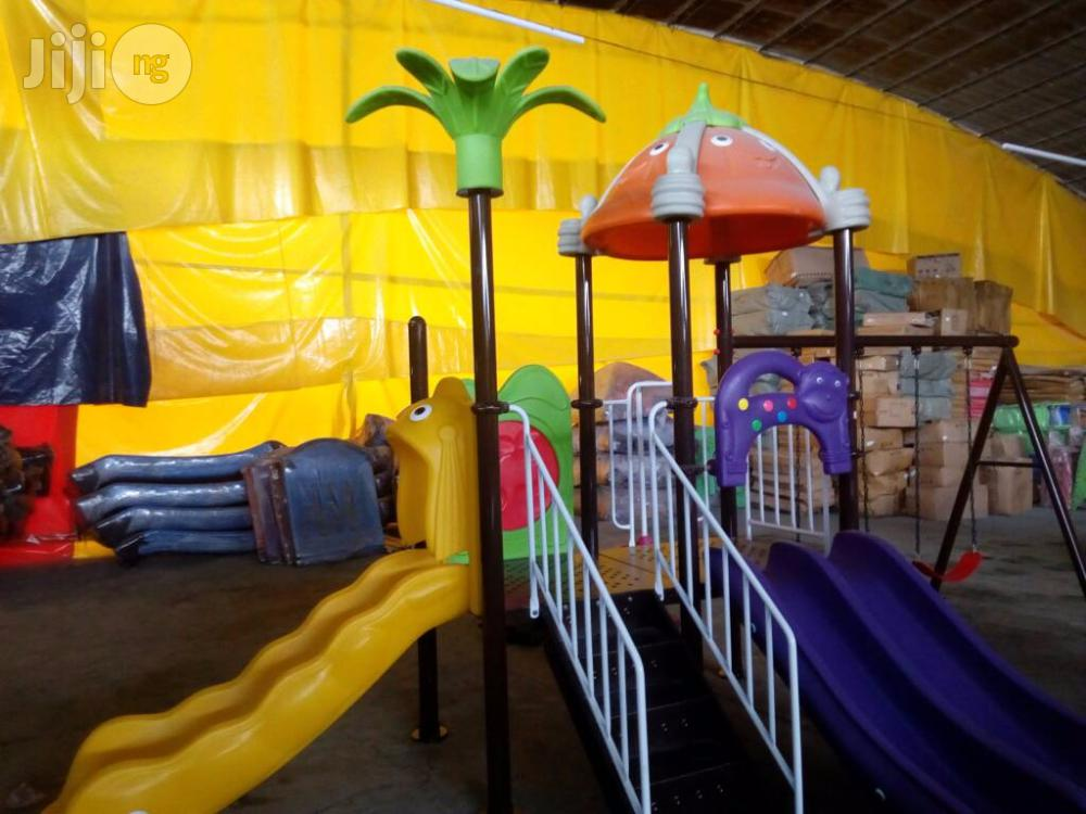 Playground Slides With Rail Handle Available For Purchase