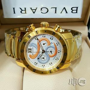 BVLGARI Chronograph Men Wristwatch   Watches for sale in Lagos State, Oshodi