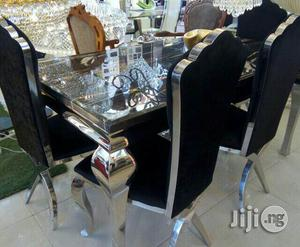 Marble Dining Table.   Furniture for sale in Lagos State, Ojo
