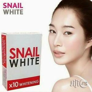 Snail White Soap 10X Whitening Power 70g. | Bath & Body for sale in Lagos State