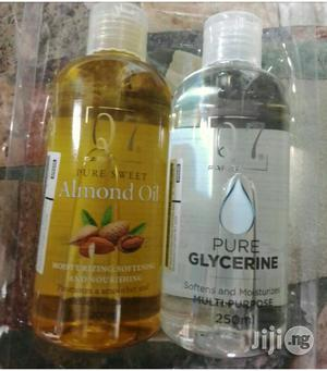 Q7 Paris Pure Almond And Pure Glycerin Oil | Skin Care for sale in Lagos State