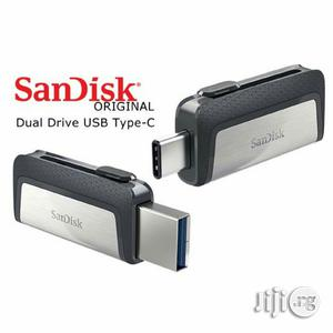 Type C Otg Flash Drive 64gb Sandisk   Computer Accessories  for sale in Lagos State, Ikeja