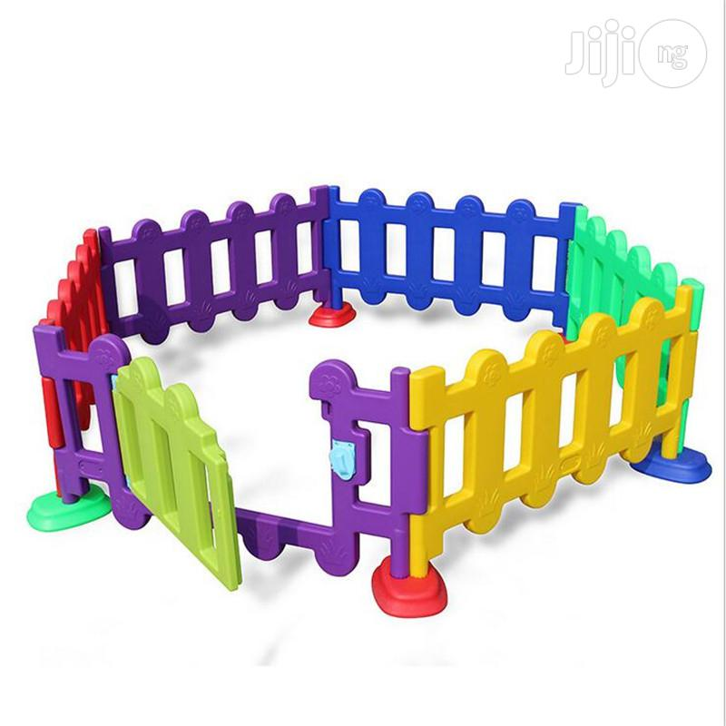 Plastic Playground Fence For Sale