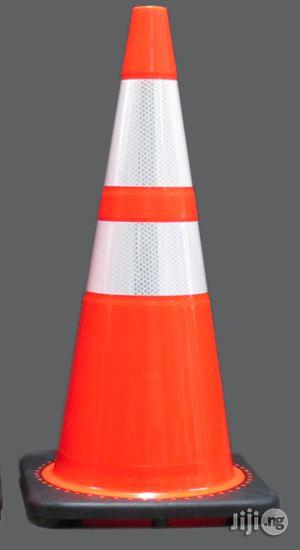 Hiphen Solutions 28 Inch Orange Safety Traffic PVC Cones   Safetywear & Equipment for sale in Benue State