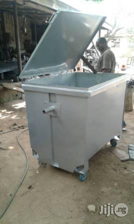 High Quality Locally Fabricated 2000 Litre Galvanized Waste Container | Manufacturing Equipment for sale in Lagos State, Ikoyi