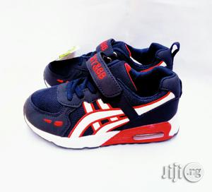 Blue and Red Sneakers Canvas | Children's Shoes for sale in Lagos State, Lagos Island (Eko)