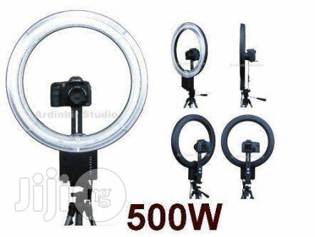 Ring Lights 55w LED Dimmable Bi-color Lighting Kit | Accessories & Supplies for Electronics for sale in Lagos Island (Eko), Lagos State, Nigeria