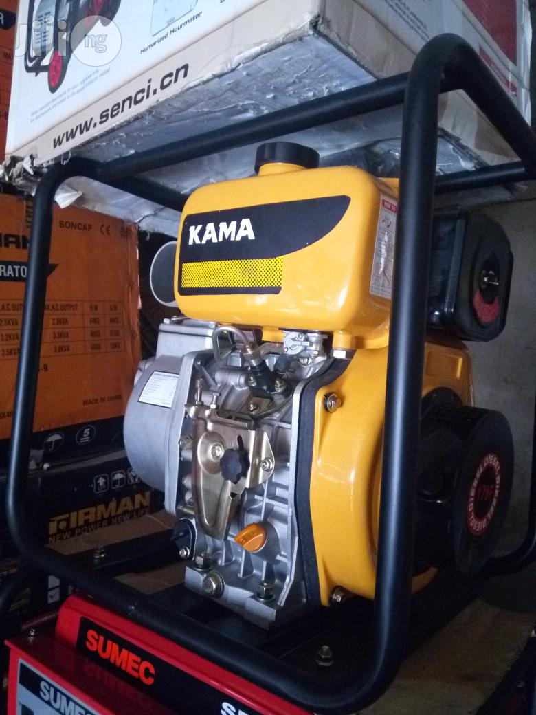 3 Inch Kama Diesel Water Pump | Plumbing & Water Supply for sale in Port-Harcourt, Rivers State, Nigeria