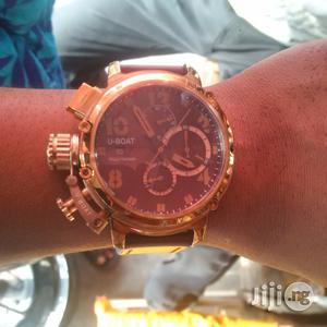 Original U-Boat ITALO Fontana Chronographic Movt Wrist Watch | Watches for sale in Lagos State, Lagos Island (Eko)
