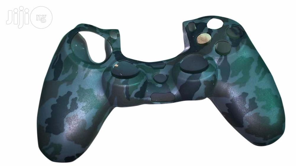 Camouflage Silicone Sleeve Cover For Playstation 4 Controller | Accessories & Supplies for Electronics for sale in Ikeja, Lagos State, Nigeria