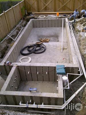 Standard Swimming Pool Design | Building & Trades Services for sale in Lagos State, Magodo