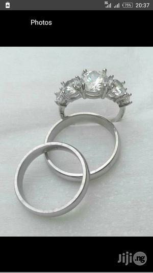 Stainless Steel Sliver Wedding Rings   Wedding Wear & Accessories for sale in Lagos State, Lagos Island (Eko)