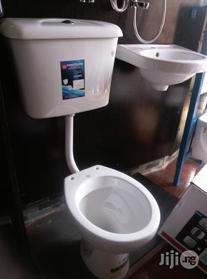 Hanging Wc With Wash Hand Basin | Plumbing & Water Supply for sale in Lagos State