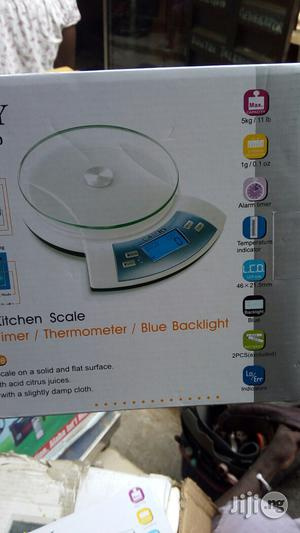 5kg Digital Scale Blue Light Camry | Store Equipment for sale in Lagos State, Ojo