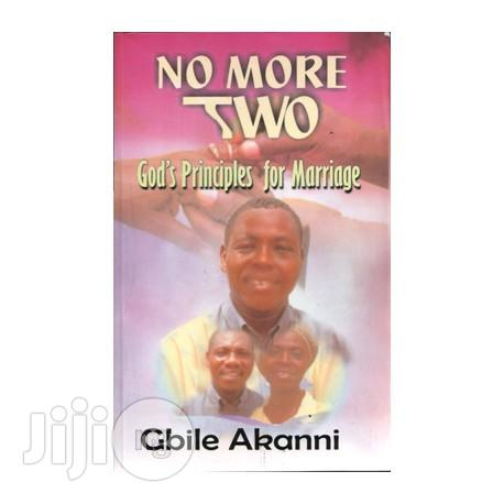 No More Two By Gbile Akanni   Books & Games for sale in Surulere, Lagos State, Nigeria