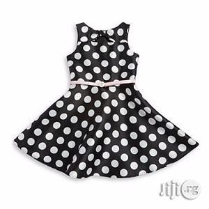 Marmellata Polka Dot Dress Black And White | Children's Clothing for sale in Lagos State, Surulere
