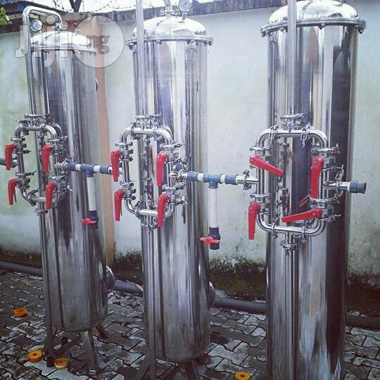 Imported Stainless Water Treatment Tank