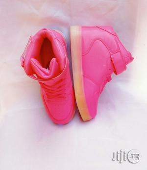 Pink Light Canvas for Girls   Children's Shoes for sale in Lagos State, Lagos Island (Eko)