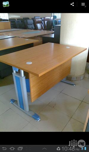 Italian Office Table With Metal Leg 4feet | Furniture for sale in Lagos State, Ojo