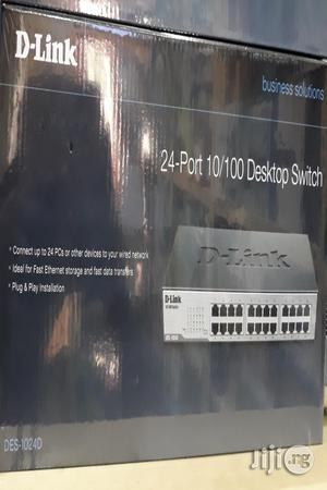 D-Link 24port 10/100 Desktop Switch Des- 1024d/B   Networking Products for sale in Lagos State, Ikeja