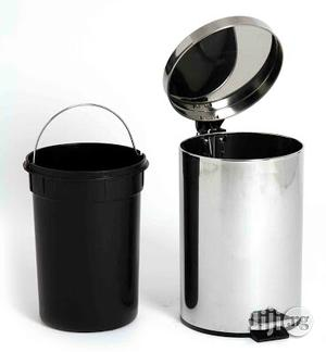 12litres Stainless Pedal Waste Bin   Home Accessories for sale in Lagos State, Lagos Island (Eko)