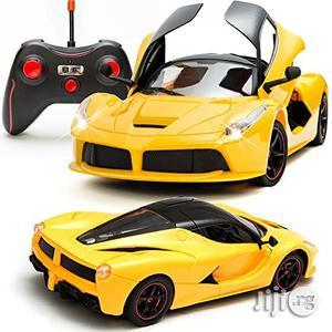 RC Sport Lamborghini Racer Series Radio Control Car Yellow Car | Toys for sale in Lagos State, Surulere