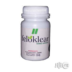 Feloklear Herbal Capsule | Vitamins & Supplements for sale in Lagos State, Surulere