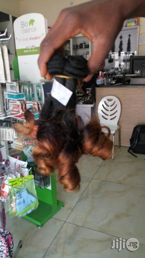Double Drawn Human Hair Weavon 14 Inches   Hair Beauty for sale in Abuja (FCT) State, Gwarinpa