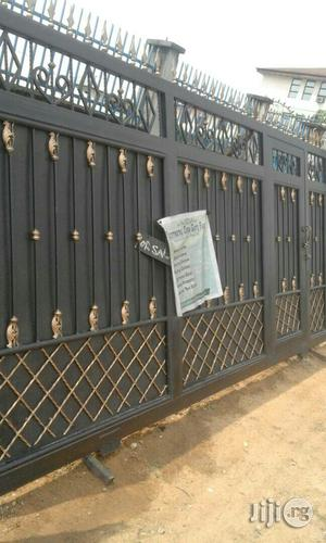 Iron Gate Design With Squre Rod | Doors for sale in Rivers State, Port-Harcourt