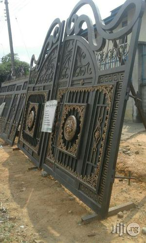 Strong Iron Gate With Thinck Pipes | Doors for sale in Rivers State, Port-Harcourt