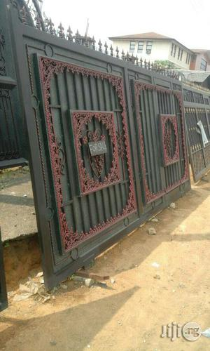 Iron Gate With Good Design | Doors for sale in Rivers State, Port-Harcourt