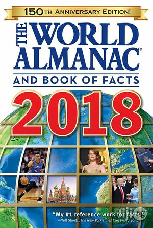 USA The World Almanac And Book Of Facts 2018   Books & Games for sale in Lagos State, Alimosho