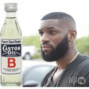 Original Castor Oil for Men's Beard and Women's Hair Growth | Hair Beauty for sale in Enugu State, Nsukka