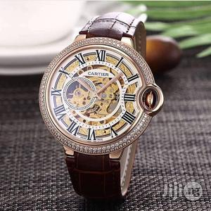 Cartier Mechanical Leather Wristwatch   Watches for sale in Lagos State, Oshodi