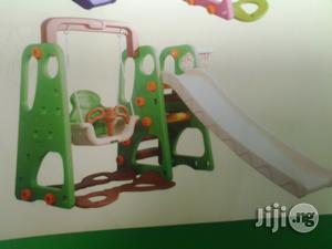 Available For Purchase, Kiddies Playground Slide With Swing | Toys for sale in Lagos State, Ikeja
