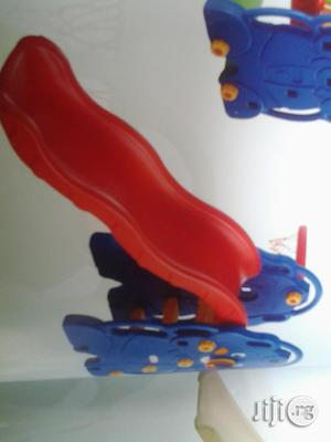 Single Kiddies Slide With Basketball Net For Sale   Toys for sale in Lagos State, Ikeja
