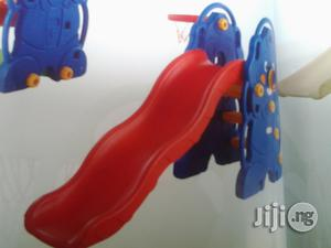 Single Slide With Basketball Net   Toys for sale in Lagos State, Ikeja