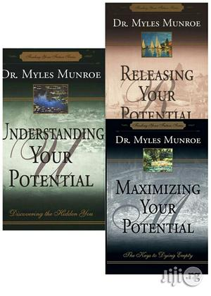 Myles Munroe Potential Gift Bundle (3 Books)   Books & Games for sale in Lagos State