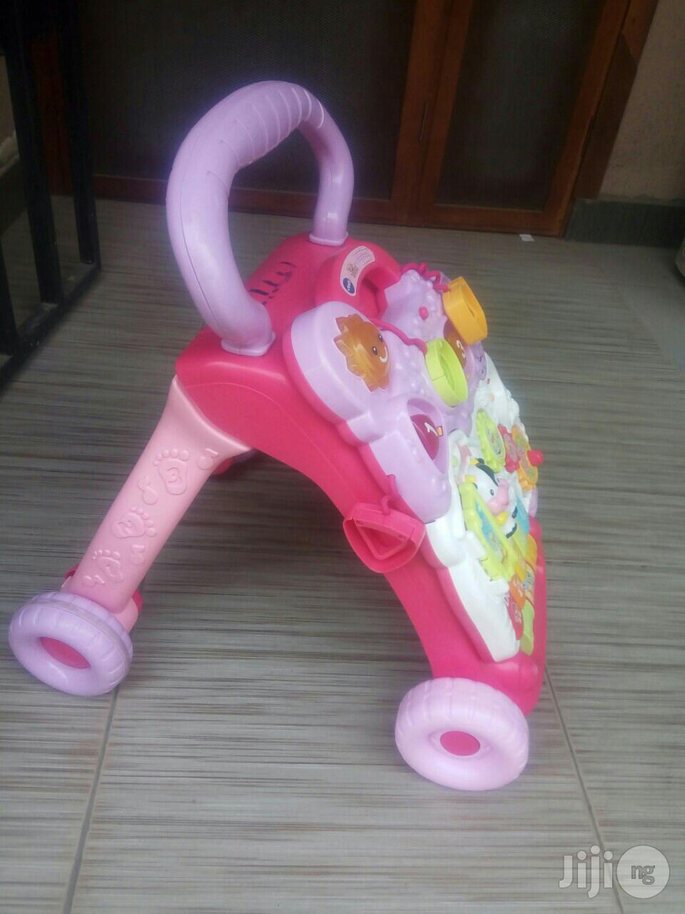 Tokunbo Uk Used Vtech Baby Learning Walker | Children's Gear & Safety for sale in Ikeja, Lagos State, Nigeria
