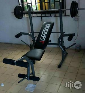 Weight Lifting Bench With Weight | Sports Equipment for sale in Lagos State, Ikeja